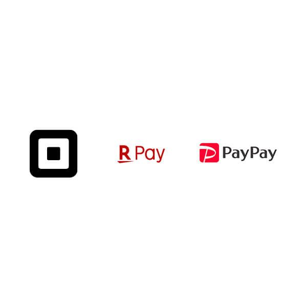 スクエア | 楽天ペイ | paypay